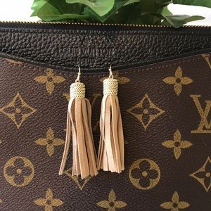 Bohemian Leather Tassle